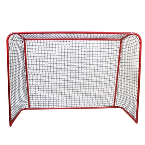 High quality steel tube portable assembly standard size ice hockey goal