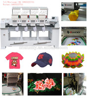 China top quality four 4 head computerized seeing embroidery machine t shirt printing machine