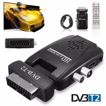 Mini Digital Tv Scart Sat Free Satellite Tv Channels Receiver Mpeg4 Hd  1080p Dvb-t2 Receiver Scart Satellite Receiver Eu/us Plug - Buy Mini  Digital Tv