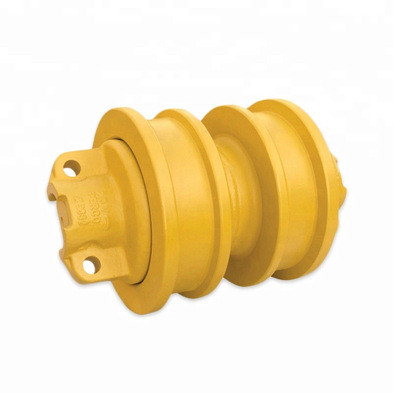 Flash di Vendita GATTO D8R D8N Dozer Carro Rullo Inferiore Doppia Flangia Pista Roller per Caterpillar