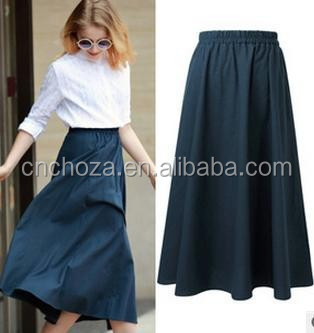 Z58906A LATEST LADY FASHION LONG SKIRTS