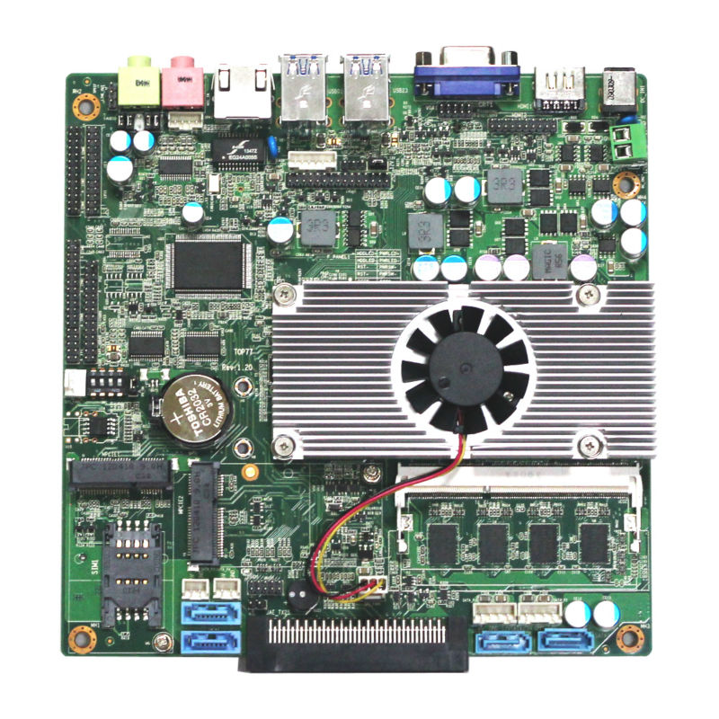 Intel celeron 1037u 1.80ghz cpu RJ45 ethernet ports motherboard dual pentium 4 motherboard Provide 8bit*GPIO.