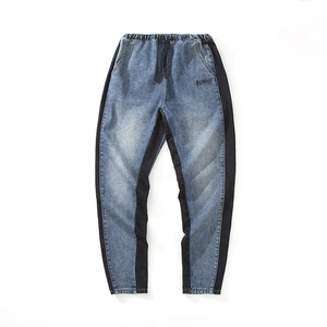 Men Jeans Men Fashion Washed Denim Pants New Man Trousers