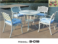 Outdoor/Garden Patio Iron Outdoor Table And Chair