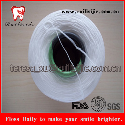 Polyester/Nylon/PTFE/UHMWPE/Terylene/Polypropylene/Teflon Dental Floss Yarn/Thread