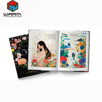 wholesale hot selling children's book illustrations