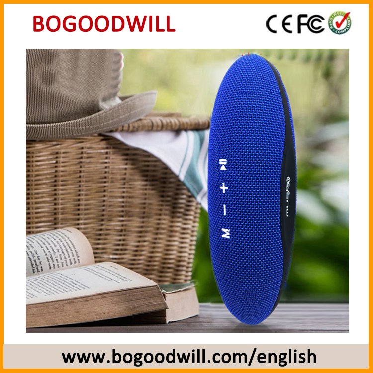 Boyouwill Portable Rugby Fabric BT Speaker Playing by TF Card USB