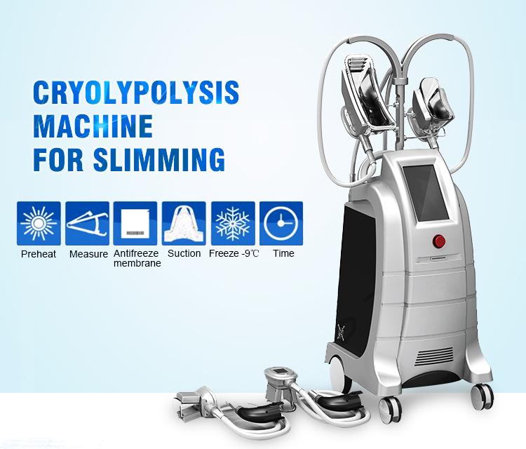 Newest type cryolipolysis machine fat freezing for fat reducing