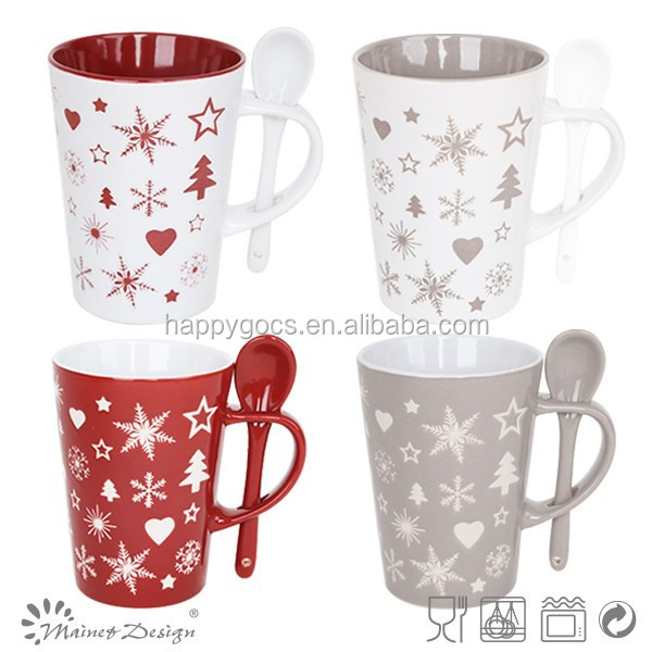 2016 Fashion style/11OZ christmas ceramic mug