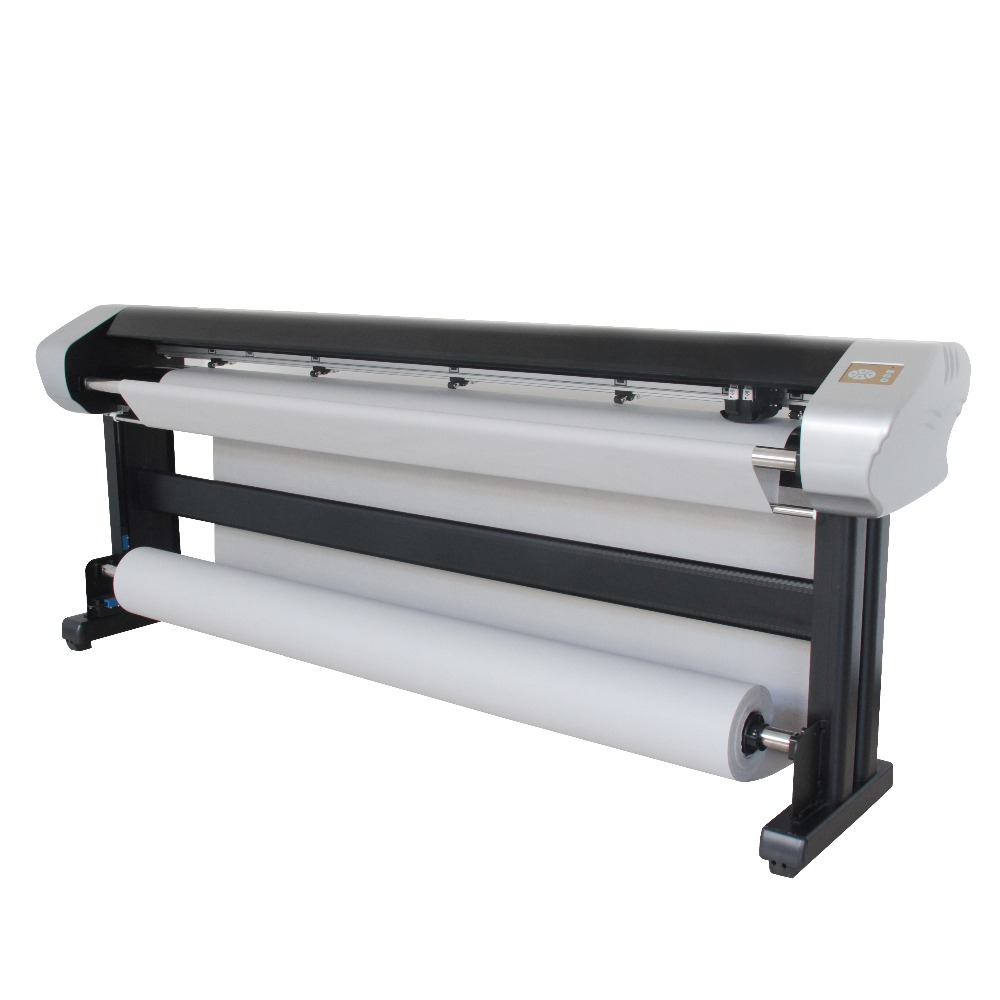 Cheap price auto CAD garment inkjet printing plotter with double heads