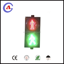 200mm LED Pedestrian Traffic Signal Light