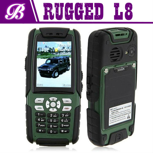 OEM rugged phone for L8 MTK 6260A with TV and walkie talkie