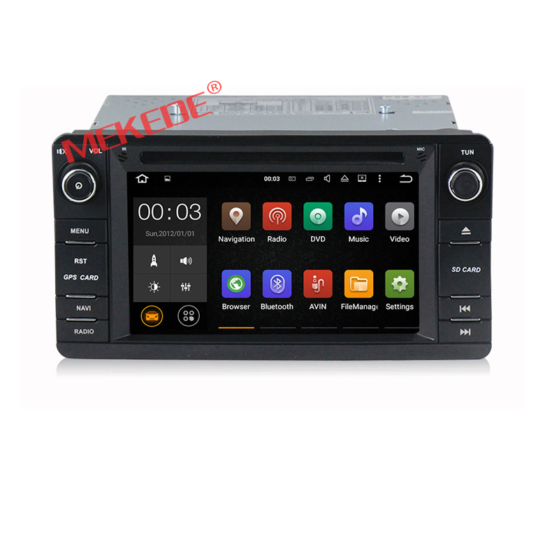 2G RAM Android 6.0 car radio stereo player for Mitsubishi outlander lancer asx 2012 2013 2014