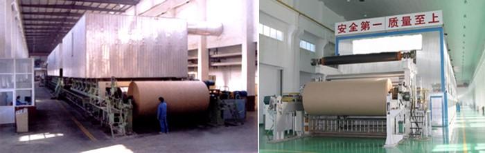 kraft paper machine