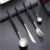 4PCS Durable Stainless Steel Flatware Set Fork Knife and Spoon Set