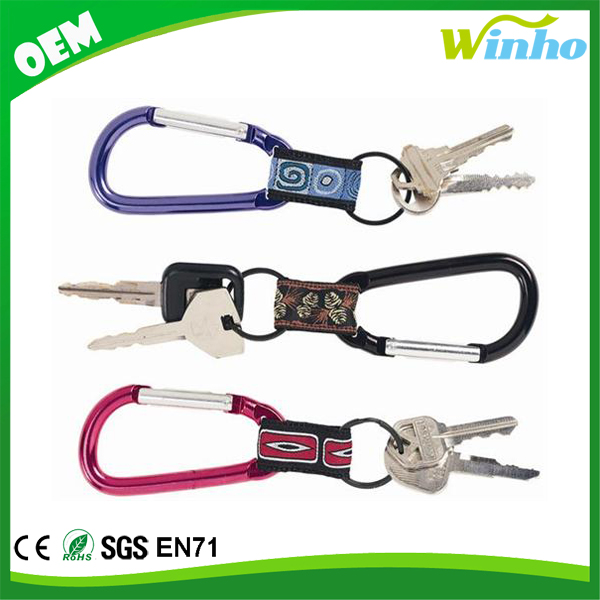 Winho Carabiner With Web Key Chain