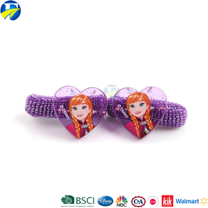 F&J brand frozen hot sale hair accessories sets beautiful hair bands for babies children's hair tie