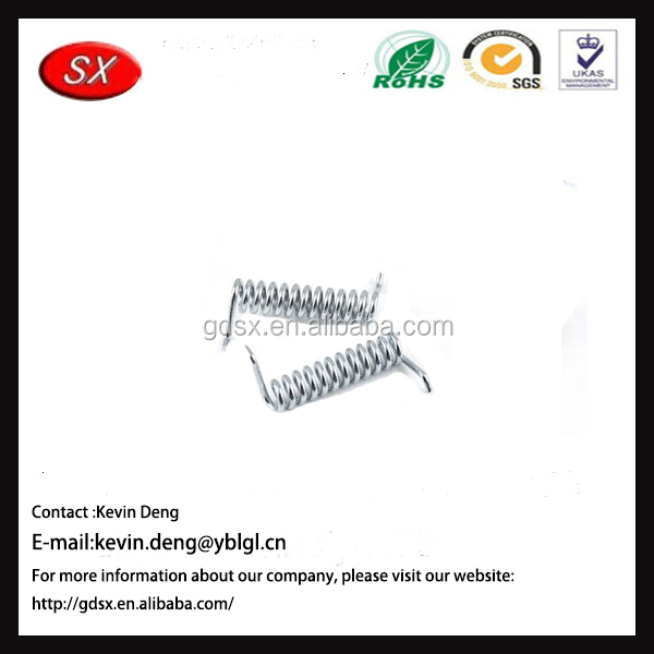 Guangdong Hardware Factory stainless steel heavy duty tension spring with two C hooks