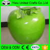 Wholesale cheap plastic decoration green apple for home decoration