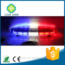 red blue police car led rotating beacon flashing lights 12v
