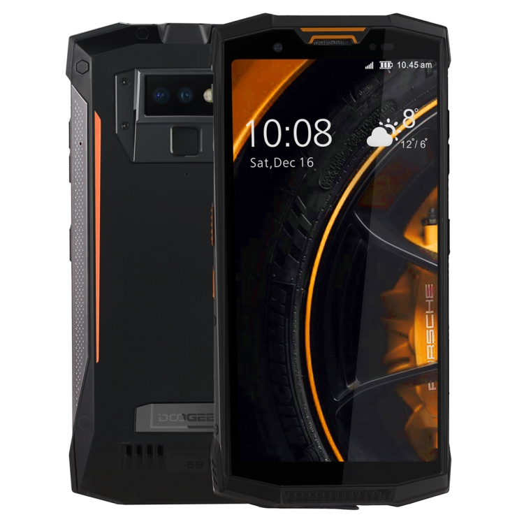 Dropshipping DOOGEE S80 Rugged Phone 6GB+64GB 10080mAh Battery IP68/IP69K Waterproof Walkie Talkie Function Mobile Phone