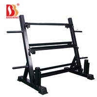 kettlebell Storage weight lifting bar rack weight plate tree dumbbell rack