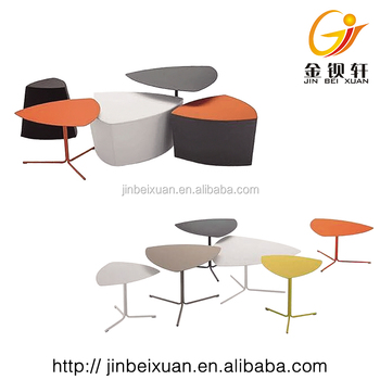 Modern Triangle Leaf Desk Metal Stainless Desk All Types Tea Tables Drop  Leaf Table Triangle Reception