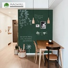 Magwall ink green blackboard double-layer customization magnetic writing board magnet board