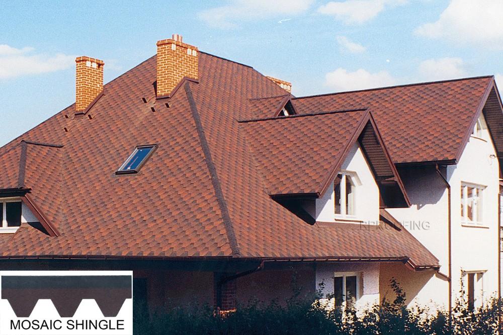Mosaic Asphalt Shingle Roof Asphalt Shingle Roofing With