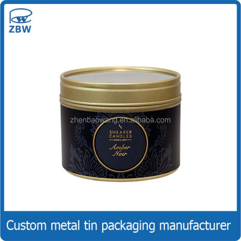list manufacturers of custom candle tins buy custom