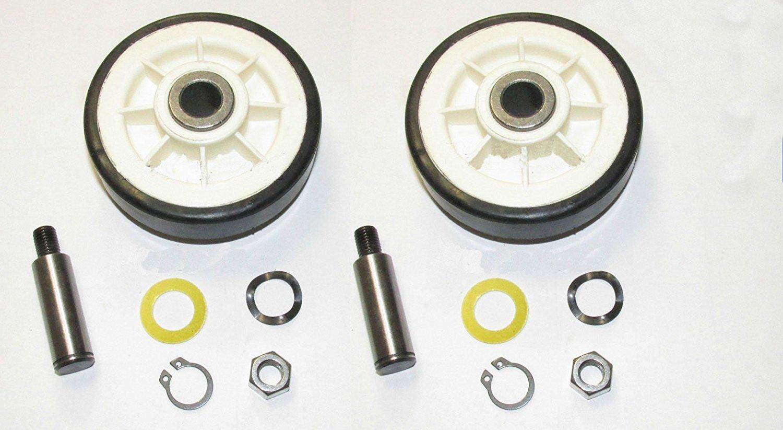 Maytag Dryer Drum Roller Kit (Set of 2) - Part # 12001541 / 303373K Belt Rollers