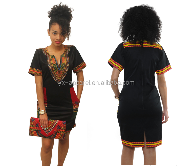 Moda africana designs kitenge ankara dress per le donne