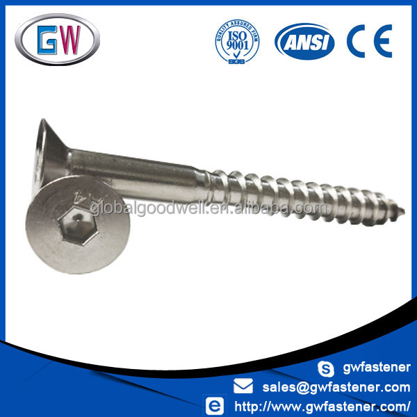GW Fastener Factory price Stainless Steel a4 70 scews 316