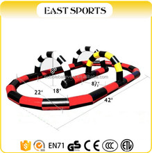 Inflatable Zorb Balls withre slot car race track for Sale
