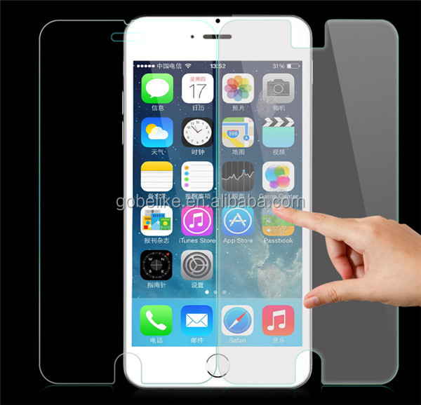 for iPhone tempered glass screen protector OEM package
