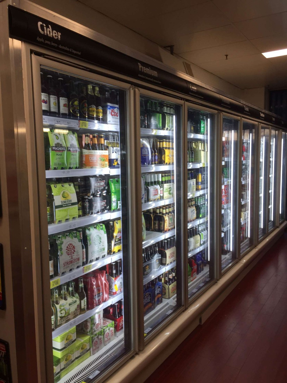 Green&health Commercial Fridge Stand Up Refrigerator Used ...