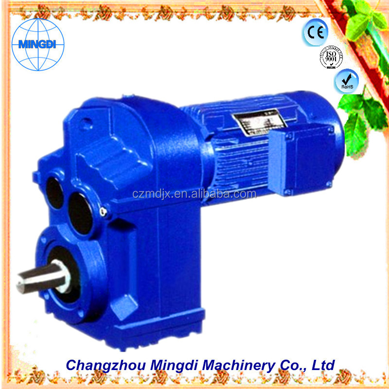 motorcycle engine used F/KAF Series Helical-bevel agriculture Gearbox Transmission Parts Parallel Shaft Reducer Diesel engines