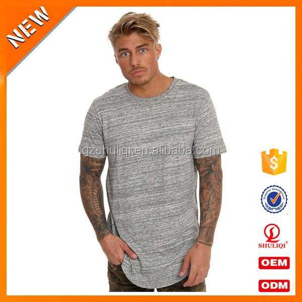 Plain fabric men fitness t shirts muscle seamless t shirt gym summer round neck t shirts in bulk