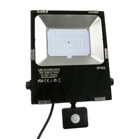 Quick Connected PIR Sensor Motion Detecting LED Flood Light Outdoor With Automatic Dimming