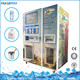 Automatic ice and water vending machine with bagging system for sale bag ice and bulk ice and pure water