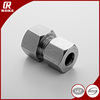 stainless steel union swagelok style instrumentation tube fitting