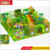 China used playground equipment indoor games commercial children indoor soft playground