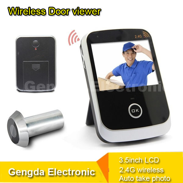 Security Home Peephole Electronic Door Viewer Wireless
