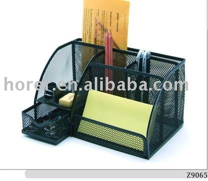 De malla de metal escritorio organizadores juego de escritorio identificaci n del producto - Organizadores escritorio ...
