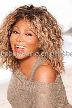 Usine Stock Tina Turner Perruque De Cheveux