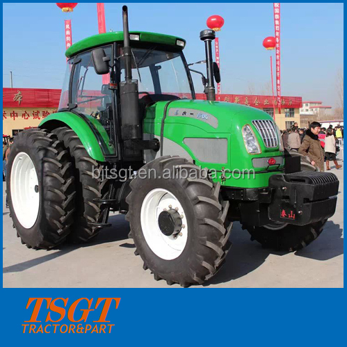 all kinds of color 160hp 4wd farm wheel tractor top quality China factory directly supply Germany tech power shift 40+40 hot sel