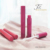 Customized new Chinese wind cinnabar plain matte round lip glaze tube high-end lip color tube