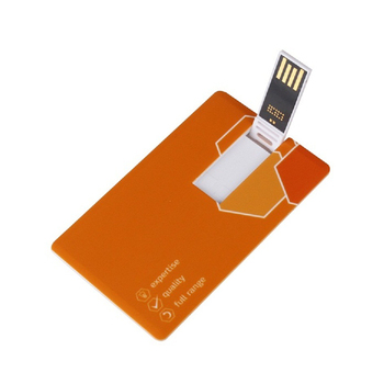 universal smart credit card usb 3.0 flash drive 1gb with custom printing