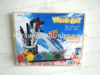 Wood Puzzle Art Do-it-yourself Kits