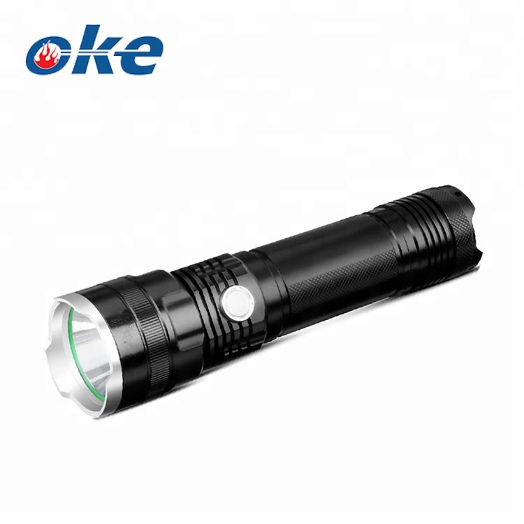 Dependable Strong Light Torch T6 800lm Aluminum Waterproof Zoomable Led Flashlight Torch Set For 18650 Rechargeable Battery Or Aaa Ample Supply And Prompt Delivery Security & Protection
